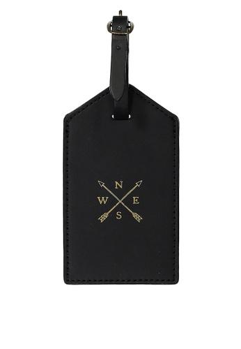 Typo black Luggage Tag D8DDBACACC0956GS_1