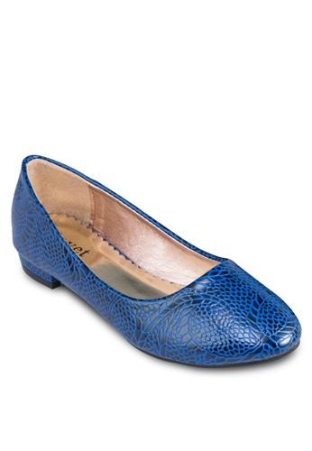印花平底鞋,zalora 台灣門市 女鞋, 芭蕾平底鞋