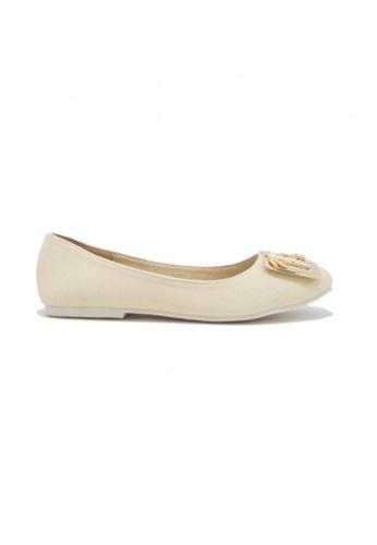 My Ballerine beige My Ballerine -Paloma comfort ballerina (Beige) D6E54SHD02D8F1GS_1