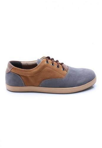 Sogno grey Sogno Ismole 0053 Sneaker Shoes Abu-Abu Coklat SO956SH49PBUID_1