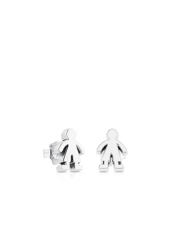 Tous silver TOUS Silver Sweet Dolls Earrings 25233AC2951B3BGS_1