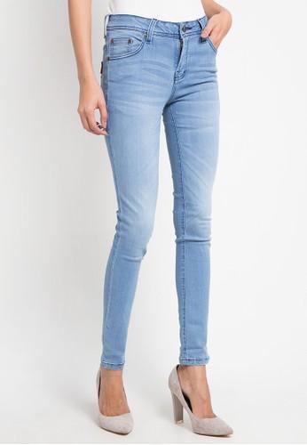 BRONCO blue Slim Fit Soft Denim D4283AA71F90C4GS_1