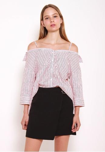 Leline Style black Heidi A-Line Skirt LE802AA0GUZ9SG_1