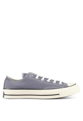 Converse grey Chuck Taylor All Star 70 Ox Sneakers CO302SH0SW6JMY 1 66e6101045