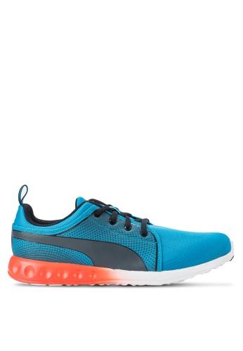 Puma blue Carson 3D Atomic Shoes PU440SH78YMNSG_1