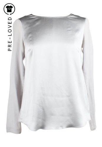 Therese Rawsthorne grey Pre-Loved therese rawsthorne Grey Top With Long Sleeves 16BEAAAADA7E4DGS_1