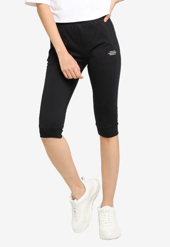 361° black Sports Life Knit Capri Pants 0E95DAAE031CA8GS_1