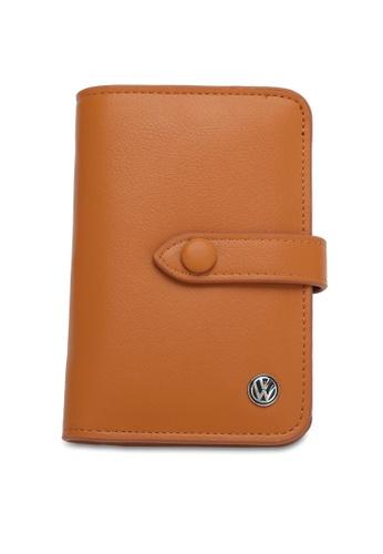 Volkswagen brown Faux Leather Wallet 6F60EAC7D1D49DGS_1