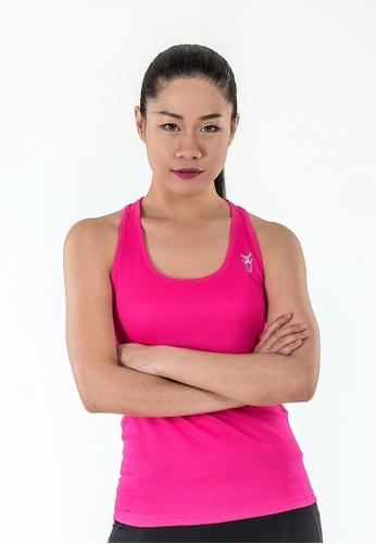 AMNIG pink Amnig Women Pace Running Tank Top (Magenta) AM133AA16DYLMY 1 dd547643b