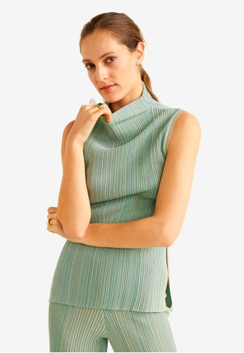 2544bb914d Shop Mango Striped Ribbed Top Online on ZALORA Philippines