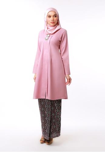 Inhanna pink DEWI Kebarung Songket Pink 0E794AA33795ADGS_1