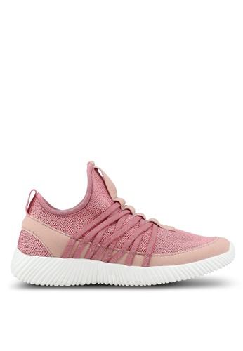 Rubi pink Faith Sock Trainers BF10CSH06B0B7AGS_1