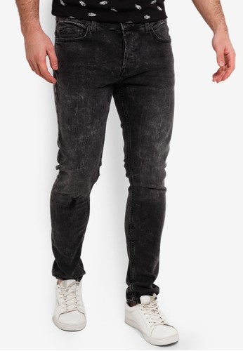 Only & Sons grey Spun Slim Fit Jeans 1BB8FAA8F34490GS_1