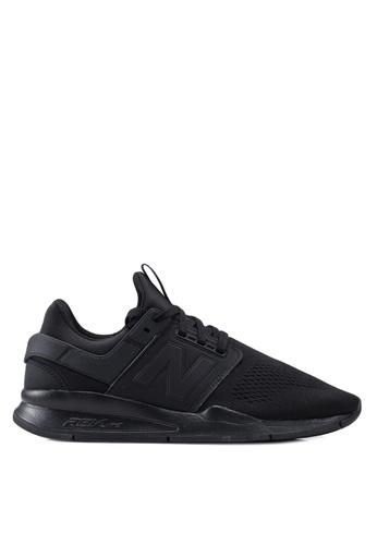 New Balance black 247 Essential Shoes 71A79SH27E315FGS_1