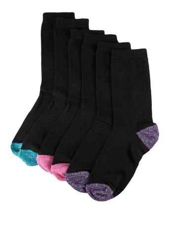Dorothy Perkins multi Lurex 3 Pack Socks C5FD6AA2186B59GS_1