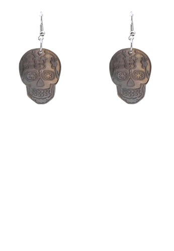 骷髏頭耳環esprit holdings limited, 飾品配件, 首飾