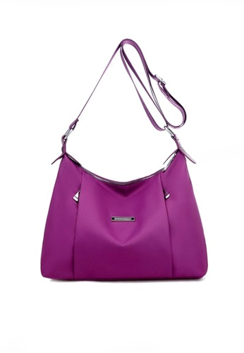 Twenty Eight Shoes purple VANSA Fashionable And Lightweight Crossbody Bag VBW-Cb9927 C2C07ACB686657GS_1