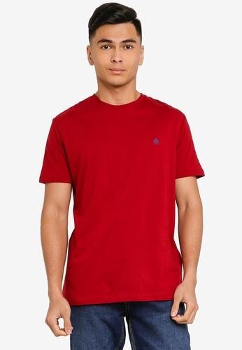 Springfield red Essential Short-Sleeved T-Shirt 3E4CCAA8E86EBAGS_1