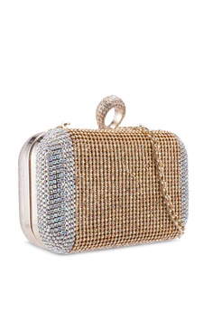 773a6d368ca8 30% OFF glamorous Diamante Clutch Bag RM 209.90 NOW RM 146.90 Sizes One Size
