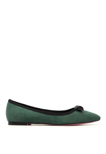 Carlo Rino green Carlo Rino 333020-259-06 Pointed Toe Flats l (Green) CA220SH0S1SNMY_1
