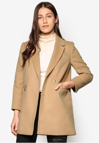 Petite Meg 拉鍊外套、 服飾、 外套TOPSHOPPetiteMeg拉鍊外套最新折價