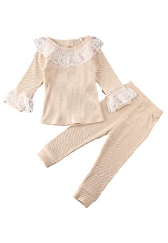 RAISING LITTLE beige Odette Loungewear 7F845KACEBFB40GS_1