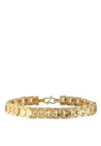 Megane gold Suria Gold Plated Bracelet BF1DDACC7B5C6DGS_1