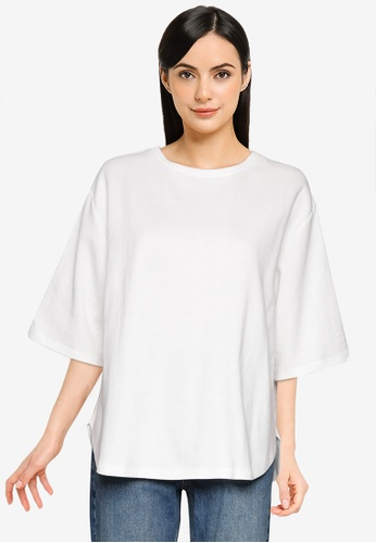 LOWRYS FARM white Casual Knit T-Shirt B1D9EAA3EB9A2DGS_1