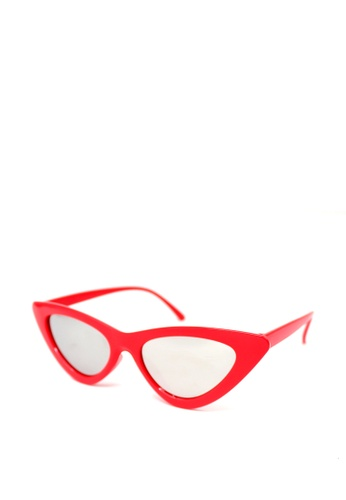 5290f49cadf45 Peculiar and Odd red Retro Vintage Cat s Eye 9788 Classic Sunglasses  69062GLFA16E53GS 1
