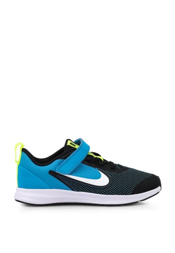 Nike black Downshifter 9 Younger Kids' Shoes 947CEKS2005509GS_1