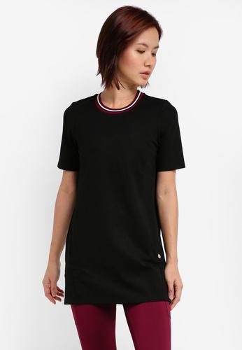 AVIVA black Short Sleeve Shirt B86CAAA5D3E9A4GS_1