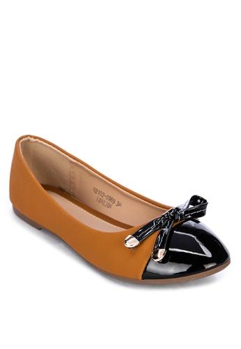 S&H brown Lovejoy Ballet Flats 7CA27SHDB0A59CGS_1