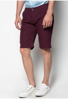 Full Print Walking Shorts