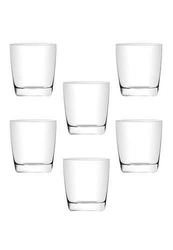 Union Glass n/a Thailand Premium Clear Glass Rock Glass 305ml - 10oz Set of 6 4E3B3HL2480630GS_1