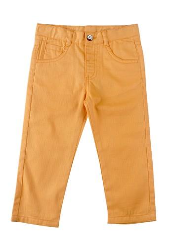 KIDS ICON yellow KIDS ICON - Celana Panjang Anak Laki-laki Baby Colours 3-36 Bulan With Adjustable Karet - CBCL1800200 C4295KA2482BA4GS_1