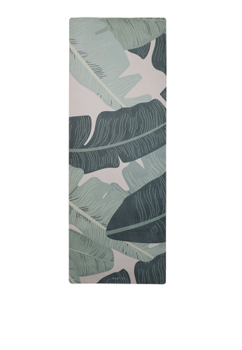Milliot & Co. green Tropican Jungle Sport Mat (6MM) 0DA4CAC8720673GS_1
