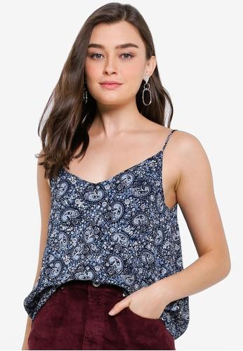 Cotton On blue Astrid Cami Top 6D821AAE0A0842GS_1