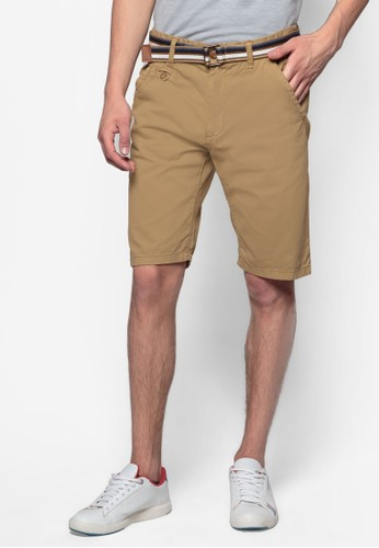 Royce 腰帶休閒短褲esprit 品牌, 服飾, 短褲