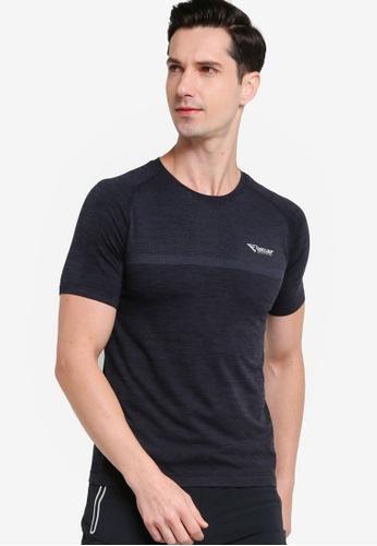 361° black Running Series Short Sleeves T-shirt 860DAAA8EA9BC4GS_1