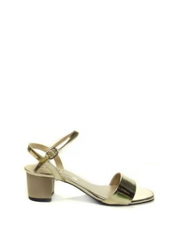Beauty Shoes gold Beauty Shoes 1276 Heels Gold A00EASH1CA795AGS_1