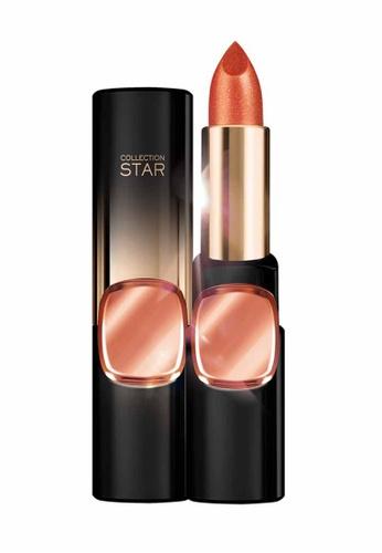 L'Oréal Paris orange and gold L'Oreal Make Up Designer CR Star 24Gold Lipstick C601 ASJP-Coral Gold LO618BE25MJIMY_1