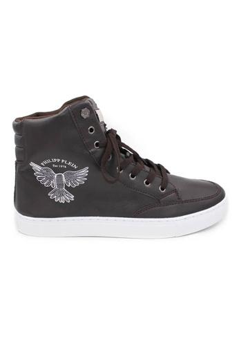 midzone brown High Cut Fashion Sneaker MI949SH95CIYMY_1