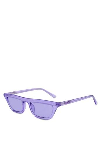 Quay Australia purple Finesse Sunglasses AE2C9GL6504112GS_1
