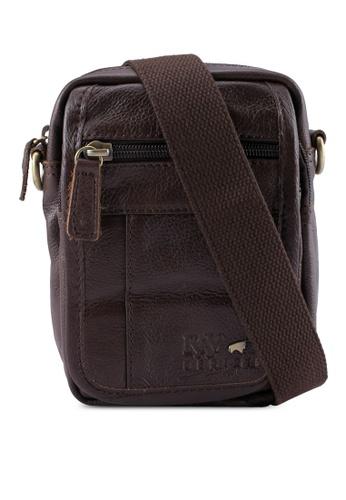 RAV Design brown Leather Pouch RA113AC0SJ9HMY_1