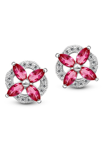 T400 Sterling Silver Jewelry silver 925 Sterling Silver Earrings With Cubic Zirconia Crystals T4166AC0JQ1TPH_1