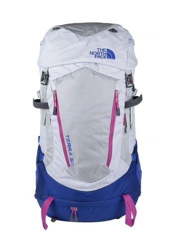 The North Face grey TNF W Terra 55 High Rise Grey / Sodalite Blue 5D38CAC73426AAGS_1