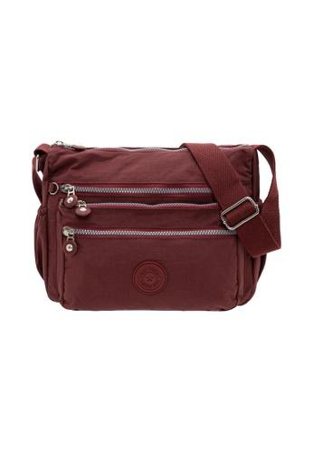 SanPrisco Original red San Prisco Poloclub Carefree Sling Bag 3F3F3ACF7D6E97GS_1