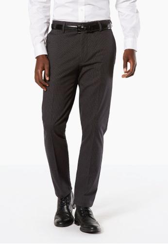 Dockers black Dockers Signature Stretch Khaki Slim Tapered Pants Black 126C4AAD9C4FEEGS_1