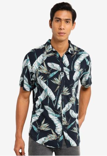 Cotton On black Short Sleeve Resort Shirt 34369AA5F113FAGS_1