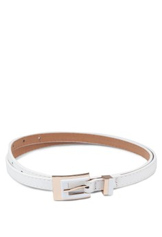 Skinny Belt with Metal Details